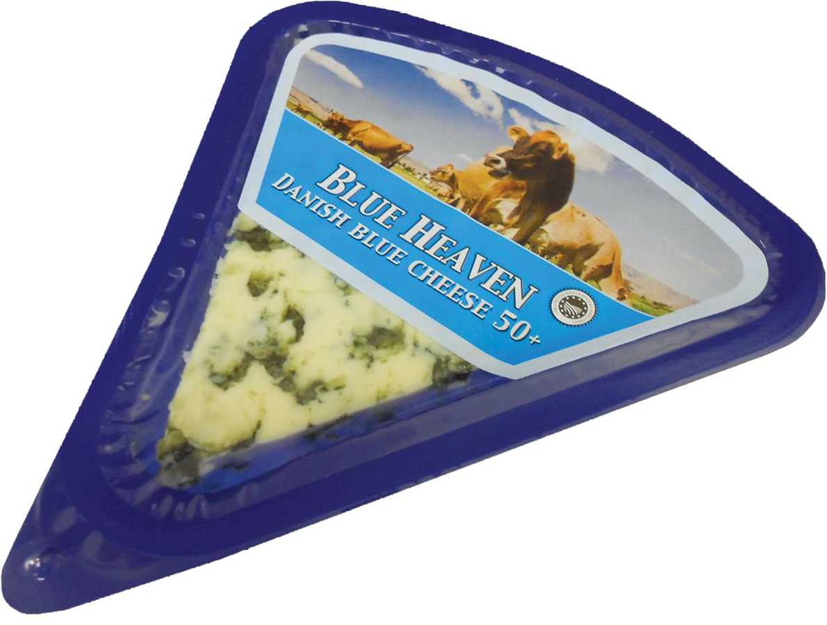 imported danish blue cheese 50 blue heaven in a 100g packet